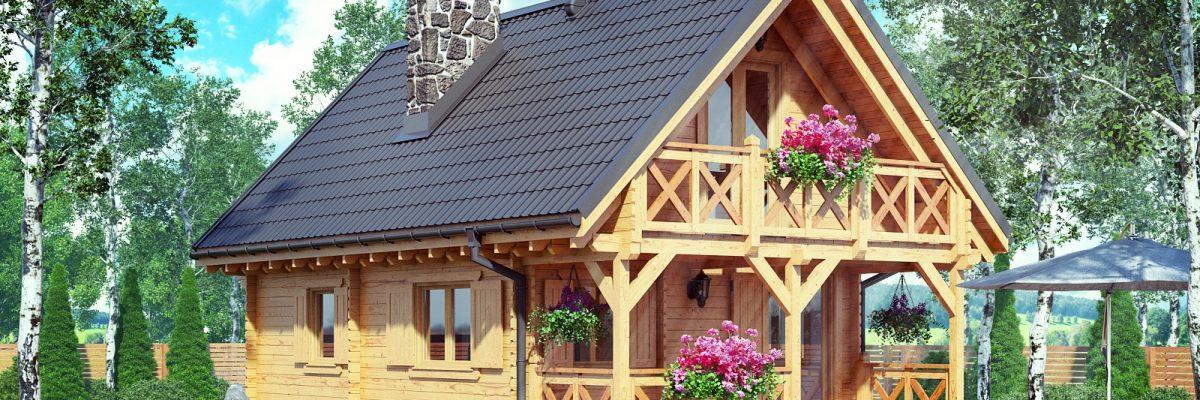 drewniany domek dawid